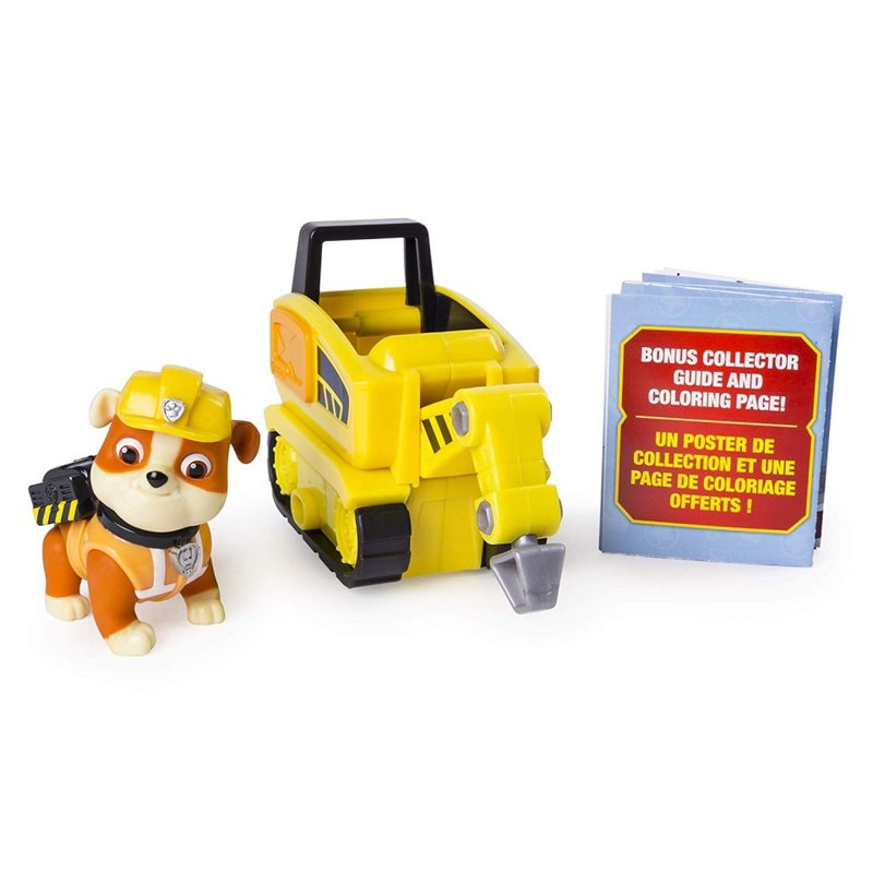 Set de joaca Rubble Mini Jackhammer Patrula Catelusilor Ultimate Rescue